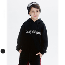 Winter Boy Clothes Long Sleeve Thick Hoodie Sweater For Kids Black Cool Boys Sweatshirt Winter Tops For Baby HS18