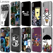 Lavaza UM Guarda-chuva Da Academia para o Caso do iphone 11 XS Pro Max XR X 8 7 6 6S Plus 5 5S se(China)
