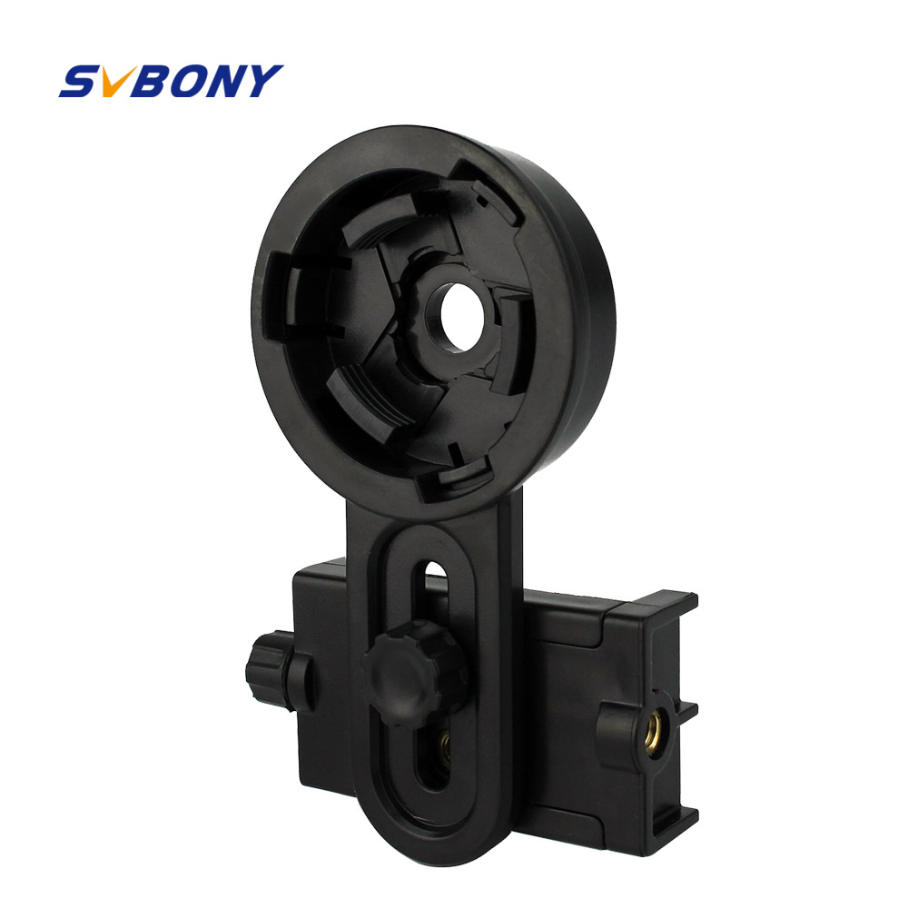 Universal Cell Phone Camera Bracket Adapter Telescope Interface Adapter Mount Telescope Accessories Svbony W2413 universal cell phone holder mount bracket adapter clip for camera tripod telescope adapter model c