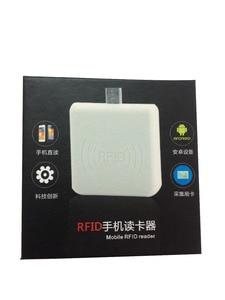 2019 Micro USB NFC Reader 13.56Mhz RFID Proximity Sensor Smart Card Reader 4/7 bytes UID adaptible for Android Linux Windows