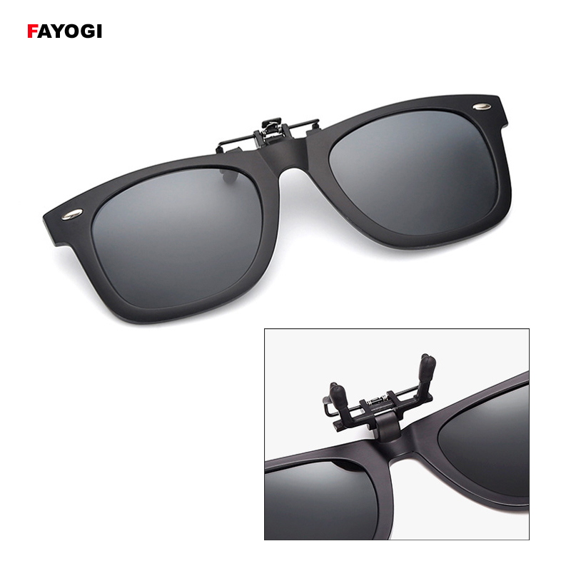 SGC04 Vintage Style Polarized Sunglasses Clip Women & Men Night Vision Goggles For Fishing Travel