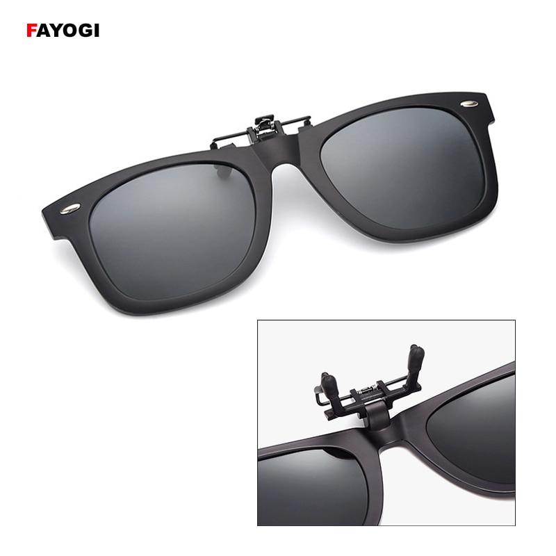 Sgc04 estilo vintage polarizado óculos de sol clipe feminino & masculino óculos de visão noturna para pesca viagens