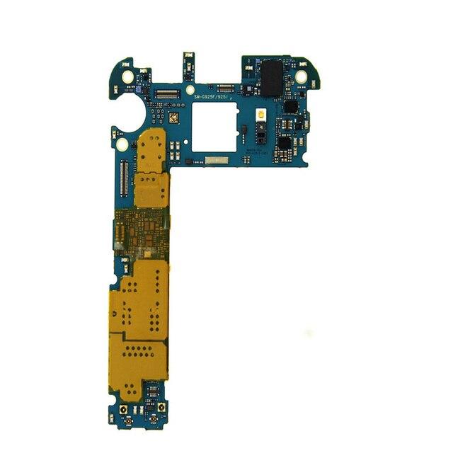 Tigenkey Orijinal Unlocked Ana Anakart 32GB Samsung Galaxy S6 Kenar G925F anakart Avrupa versiyonu
