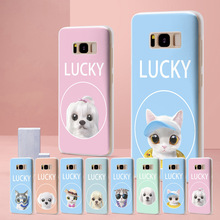 For Samsung Galaxy S8 Lucky Cat Case for Samsung Galaxy S10 S10e Case for Funda Samsung Galaxy S8 S7 Edge S8 S8 Plus S9 S10 Plus goowiiz фиолетовый samsung galaxy s8 plus