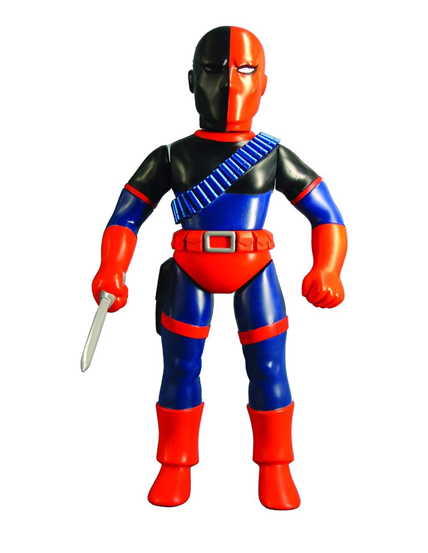 Oficjalna Medicom DC Hero: Deathstroke Sofubi Figurka Kolekcjonerska Model Toy