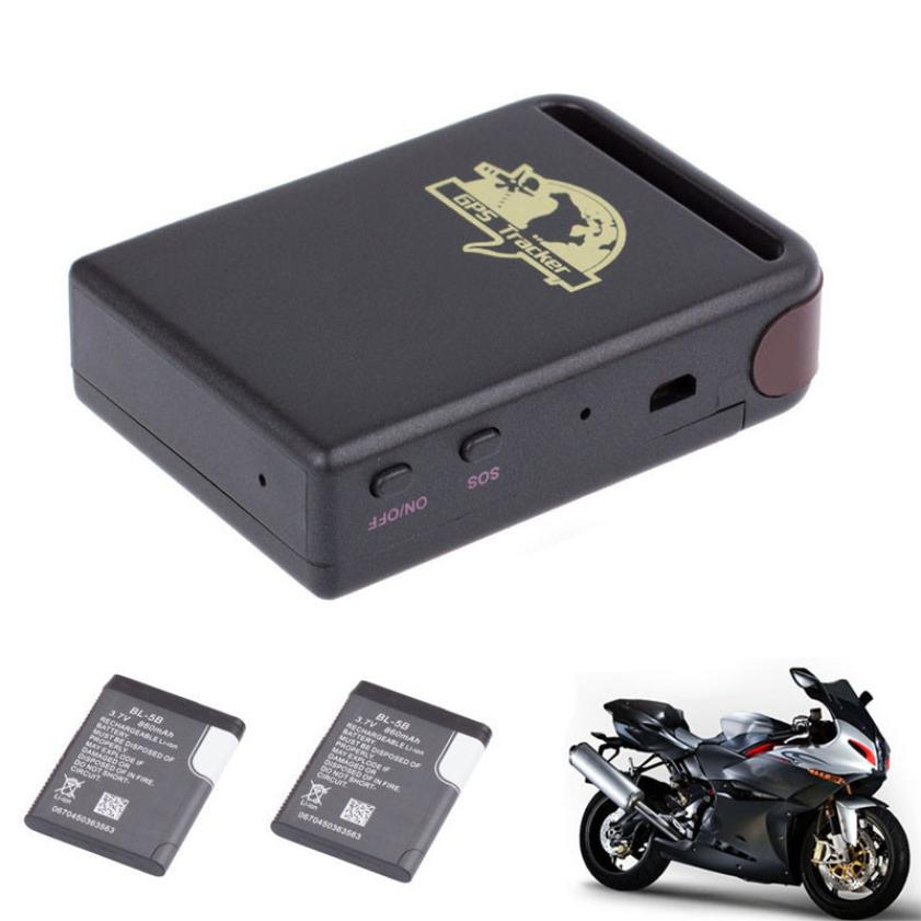 New Arrival TK102 GPS/GSM/GPRS Tracker Car Vehicle Mini Tracking Device + 2 Battery