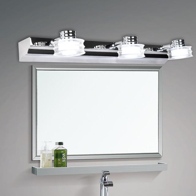 Semplice e moderno ikea in acciaio inox luci led specchio camera da letto bagno wc acqua nebbia - Specchio parete ikea ...