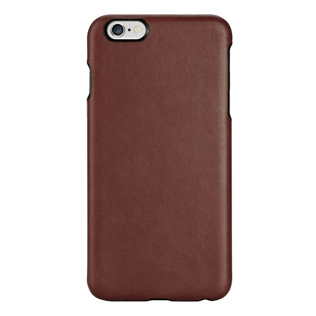 Oatsbasf para iphone 6 s 4.7-polegadas disco saco tampa do couro couro da pele rígido capa para iphone 6 s 6-café