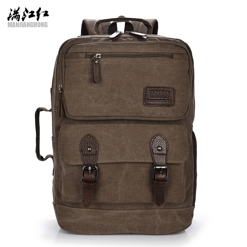 Men's 15 inch Laptop Backpack Men Canvas bag School student Book Bags Fashion Urban Backpacks Rucksack 1209 2016 new style canvas leather patchwork fashion student school stachel book 15 inch travel shopping laptop computer backpack bag