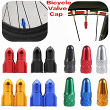 2Pcs New High-grade Bicycle Gas Nozzle Cap Motorcycle Electric Cars Valve Cap Presta&Schrader Valve Cap Road&MTB Bike Dust Cover
