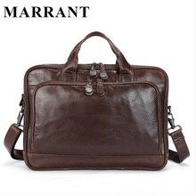 MARRANT Genuine Leather Men Crossbody Shoulder Bags Men's Business Handbags Man Briefcase Casule Tote Handbag Fashion Man Bag