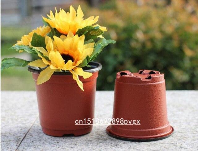 Bloemen In Pot.Us 3 45 25 Off Zacht Plastic Bloemen Pot Planten Zaailingen Kwekerij Potten 9x6x8 Cm Bloempot In Zacht Plastic Bloemen Pot Planten Zaailingen