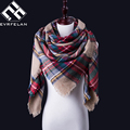 Luxury Brand Winter Scarf For Women Scarf Fashion Scarves Top Quality Blankets Soft Cashmere Scarf Warm Square Plaid Shawl