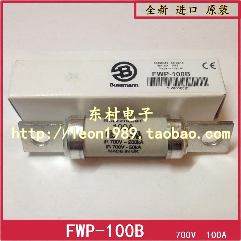 цена на [SA]US imports of original Bussmann Fuses FWP-90B FWP-100B 100A 700V fuse
