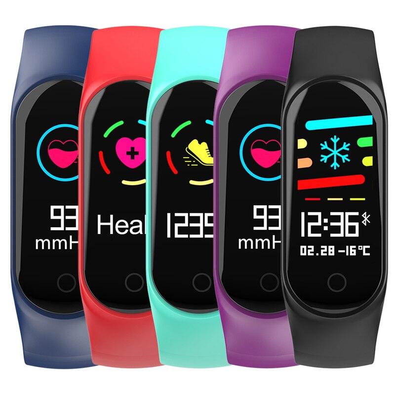 FleißIg M3s Farbe Bildschirm Intelligente Fitness Tracker Schrittzähler Läuft Kalorien Digitale Armband Gesundheit Uhr Outdoor Sport Zubehör Schrittzähler Fitness & Bodybuilding