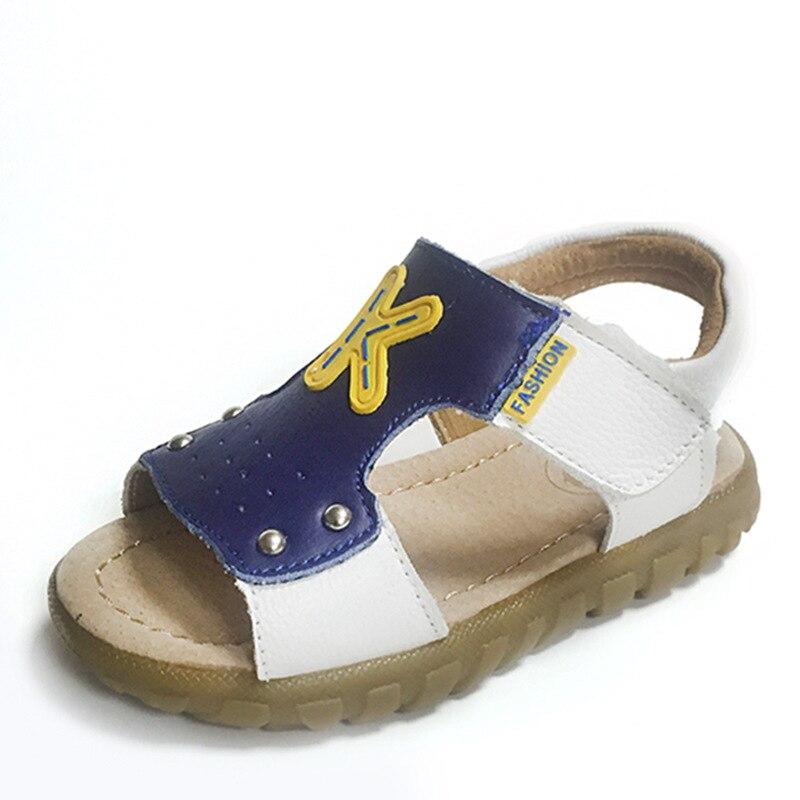 Afdswg Kinder Schuhe Sommer 100% Leder Sandalen Für Junge Kinder Gelb Tendon Bottom Sandalen Für Kinder Mädchen Strand Sandalen Kinder