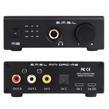 Top Deals SMSL Audio M3 USB Powered Audio Decoder, Black