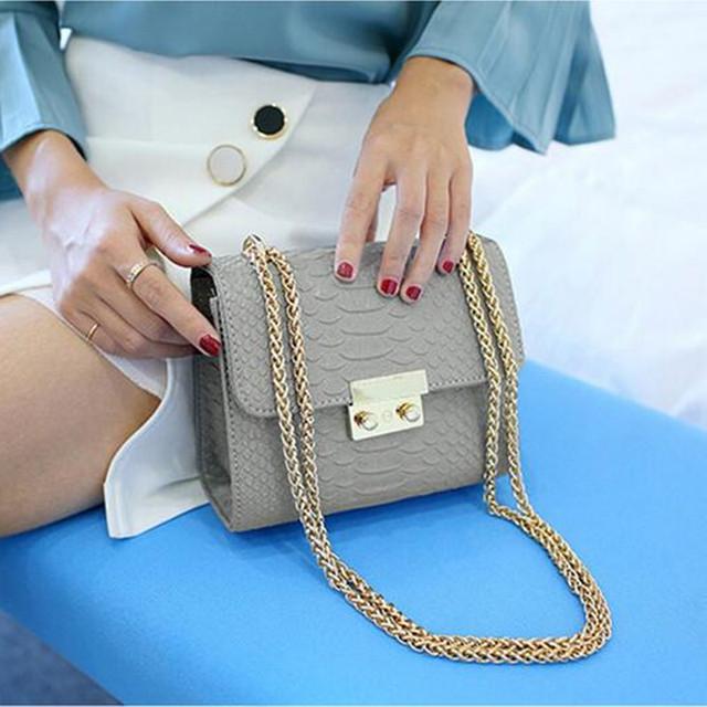 Crocodile Mini Women Crossbody Bag