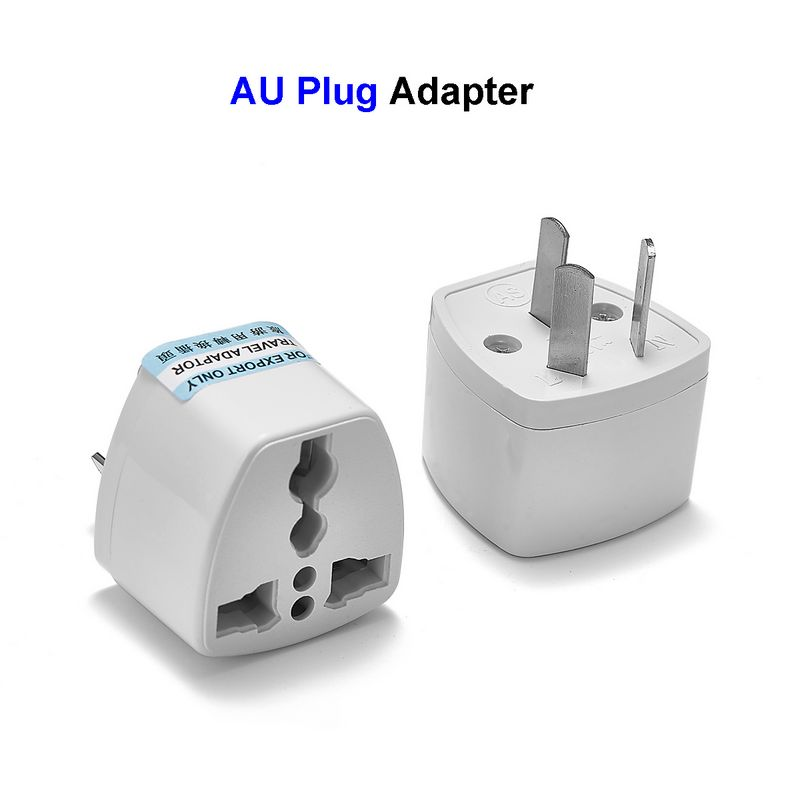 Universal AU Australian Plug Adapter EU European US UK To AU Australia Travel Power Adapter Socket Electrical Charger Outlet eu us uk au plug outlet