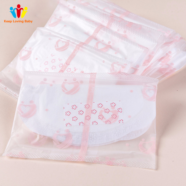 100 Pcs Anti-Overflow Pad Chest One-time pregnant women lactating breastfeeding mat care pad health cleaning nurse