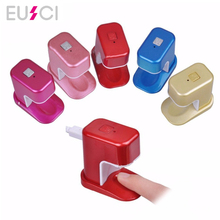 3W Mini Nail Dryer Portable Single Finger Art LED UV Lamp for Gel Nails Curing Cute Manicure Tools