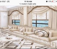 curtians for bedroom living room Valance Pelmet Trim Beige cortinas french window cortina brand curtains