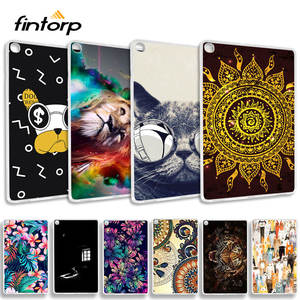 Case Bumper Painted-Tablet-Cover SM-T510 T515 Soft-Silicone Samsung Galaxy Fashion