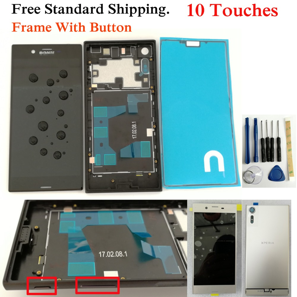 Shyueda IPS 100% Original New With Frame For SONY Xperia XZS G8231 G8232 5.2