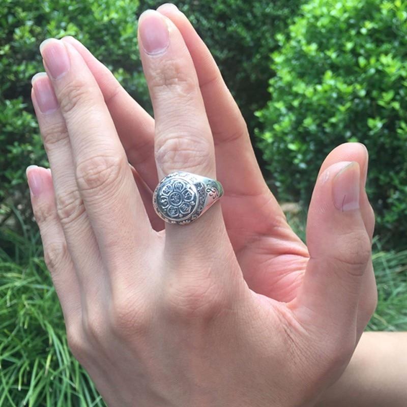 """""""ZABRA"""" senoviniai 925 sidabriniai žiedai, skirti moterims - Mados papuošalai - Nuotrauka 5"""