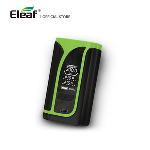 Image 2 - 창고 원래 eleaf ikuu i200 tc 상자 mod 4600 mah 배터리 내장 vw/tc 모드 510 스레드 전자 담배