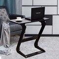 Goplus Tragbare Sofa Tisch Moderne Ende Seite Tische Konsole Snack TV Kaffee Tablett PC Laptop Schreibtisch Z Form Holz schreibtisch HW56267BR|side table|table modernsofa table -