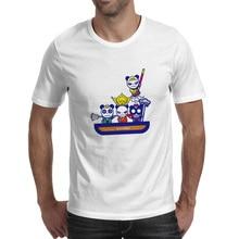 Godspeed To The West T-shirt Panda Parody Skate Rock Punk T Shirt Design Casual Fashion Women Men Top цена