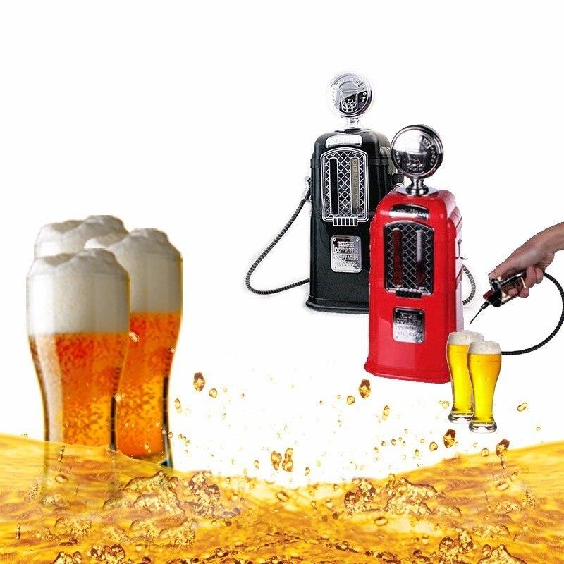 Double Guns Pompe Alcools Station Noir Distributeur De Bière Alcool Liquide Boisson Gazeuse Distributeur de Boissons Machine Bar Bière Outils