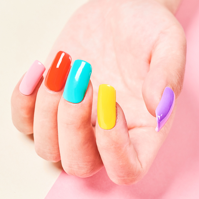 RBAN NAIL Gel Nail Polish Gel Varnish Paint Semi Permanent Nails Art Gel Nail Polish For Manicure Gellak Top Coat Hybrid Primer 5