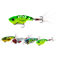 1pcs 7g/10g fishing lure VIB Vibrations Spoon Lure Bass wobblers artificial bait cicada vib