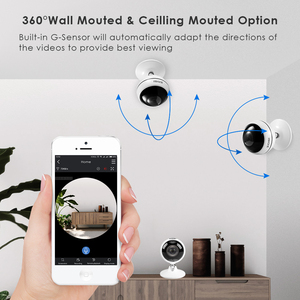 Image 4 - ZOSI Wireless IP Camera WiFi Panoramic Fisheye Video Surveillance Camera 3MP Ultra HD 360 Full Degree View Angel VR CCTV Camera