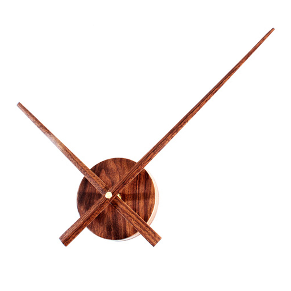 Creative Diy Wall Clock Modern Design Wooden Long Pointer Clocks European Retro Style Wood Watch Home Decor Silent In From Garden On