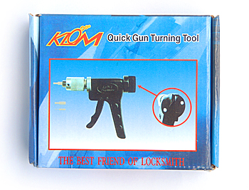 High Quality KLOM Quich gun turning Tools for Locksmith tools Free Shipping цена