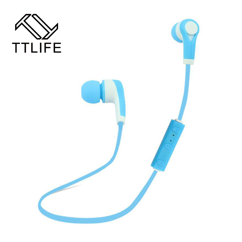 2016 TTLIFE Brand Bluetooth Wireless Earbuds Sweatproof In Ear Earphone Noise Cancelling Earphones with MicStereo Auriculares