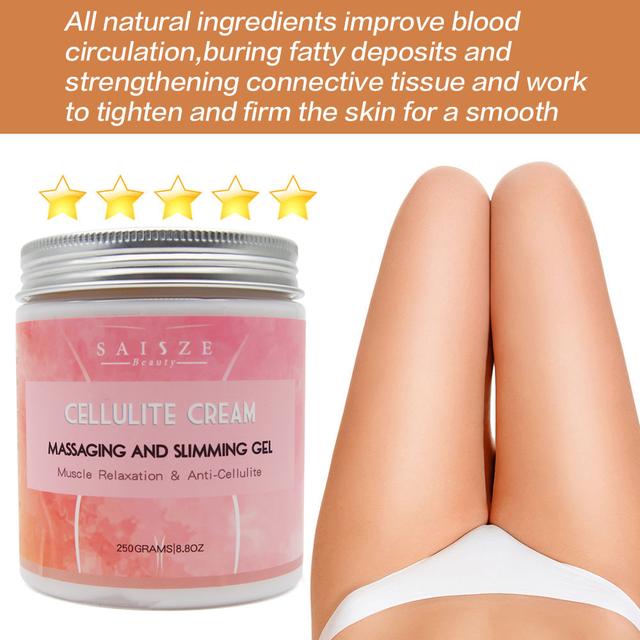 Cellulite Hot Cream Tight Muscles-Soothes Leg Relaxes Adipose Massage and Tightens Skin Weight 250g Drop shipping 2