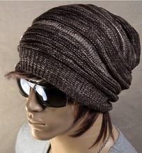 2015 Оптовая НОВАЯ ткань красочный унисекс шапочки шерсть вязаный теплый две стороны носить шляпу осенью и зимой фьюжн аксессуары