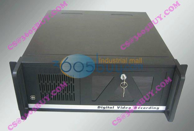 New 4U503 computer case server monitor hard drive industrial computer case new industrial computer case 2u server computer case pc power supply length 43