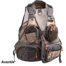 Aventik Super Light Quality Mesh Fabric Fly Fishing Vest General Size Multi Function Mutil Pocket Outdoor Wading Clothes Vest