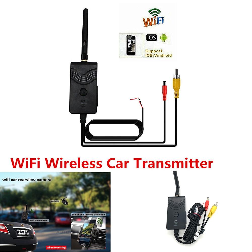 903W FPV WiFi Wireless Car font b Camera b font Video Rearview WIFI Transmitter Backup font
