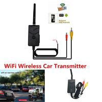 903W FPV WiFi Wireless Car Camera Video Rearview WIFI Transmitter Backup Camera Monitor for IOS Android Smartphone AV Interface