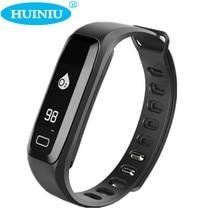 Huiniu G15 смарт-браслет Приборы для измерения артериального давления Сна Трекер Смарт сердечного ритма трекер Шагомер Смарт-браслет для IOS Android