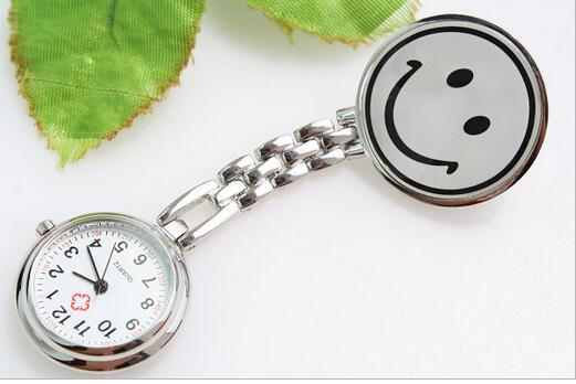 New Fashion Quartz Smiling Face Nurses Watches Doctor Nurse Dedicated Hours Watches PO583