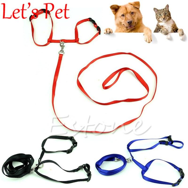웃 유Cuerda de nylon ajustable PET CAT Dog collar leash pequeño ...
