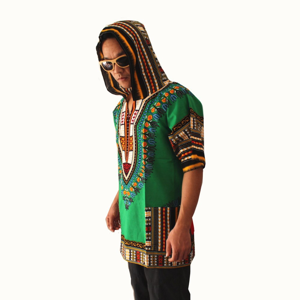2019 New Fashion Style Summer African Men Printing Plus Size T-shirt