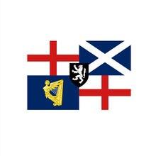 Флаг английском Союза 90x150 см для украшения
